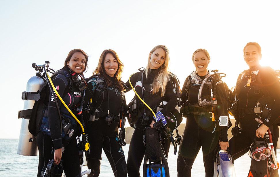 Luckydivers Open Water Vakantie Cursus
